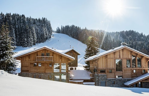 Ski Chalets in Morzine With a Hot Tub | OVO Network