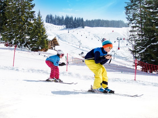 Skiing in La Clusaz