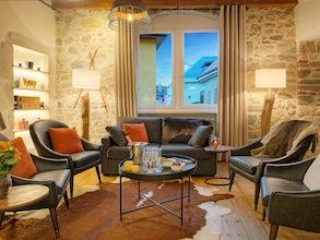 Appartement situé à l'intérieur des remparts médiévaux de la vieille ville d'Annecy